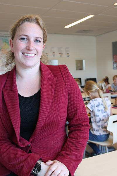 Kyra Nijhuis - Lerares Basisschool De Saller in Losser