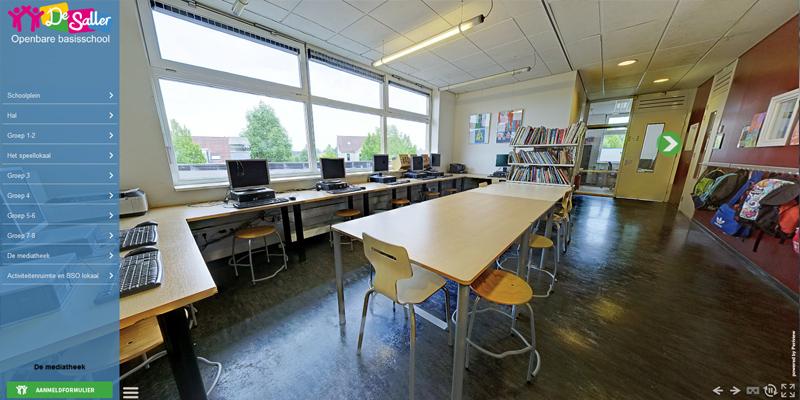 Virtuele Rondleiding op openbare basisschool De Saller in Losser, Twente